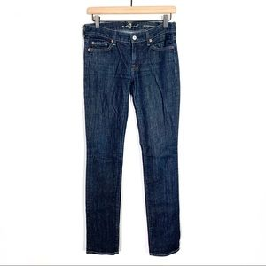 7 For All Mankind Roxanne dark wash jeans